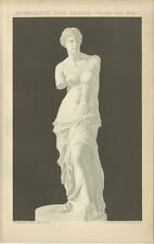 Aphrodite von Melos Venus von Milo Statue Göttin Marmor Paros Brockhaus 0010
