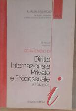 Compendio di diritto internazionale privato e processuale -Novelli-Simone,1997-A