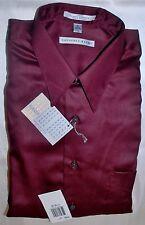 GEOFFREY BEENE Wrinkle Free Men's Long Sleeve Shirt -  XLarge ~ 17 32/33 NWT