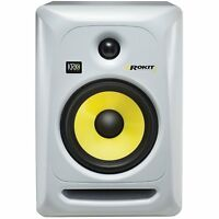 """KRK RP6G3W Rokit White 6"""" Active Powered Studio Monitor Speaker"""