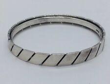 Sigurd Black Dänemark Vintage Sterlingsilber Modernist Armreif Armband