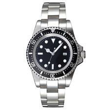 42mm Parnis Black Dial SEA Automatic Movement mens watch