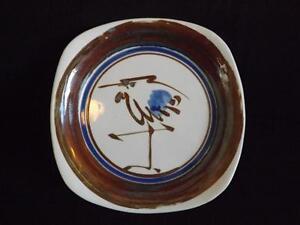 Dansk Niels Refsgaard Bird Heron Platter Plate