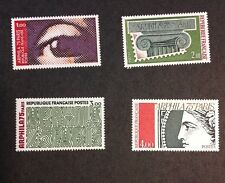 France 1975  VF MNH Set Of 4