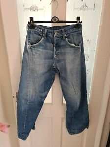 Mens Levis Twisted Engineered Distressed jeans 28x30