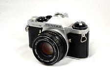 Pentax Me Super 35mm Slr Camera Kit w/ 50mm Lens - Very Good