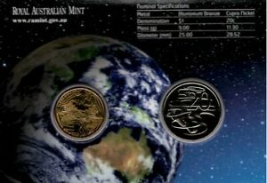 2008 International Year of Planet Earth Uncirculated RAMint 2 coin set