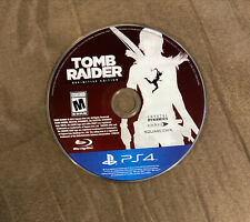 Tomb Raider Definitive Edition Sony Playstation 4 Ps4 ~ Works Great! Fast Ship!