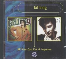 KD LANG ALL YOU CAN EAT & Ingenue 2CD