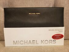 "New MICHAEL KORS Sleeve Macbook Air 11"" Black Gold Cover Case Carry Protect"