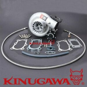 "Kinugawa Billet Turbo 3"" TD05H-16G For Nissan TD42 Patrol T3 8cm/6 Bolt/Oil Cool"