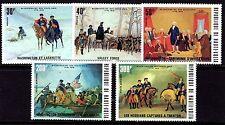 Upper Volta / Burkina Faso - 1975 Bicentenary USA - Mi. 569-73 MNH
