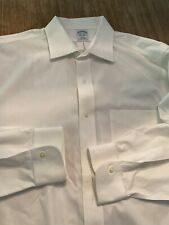 BROOKS BROTHERS 16 1/2 - 35 NON IRON SHIRT VIEW PHOTO FOR MORE DETAILS