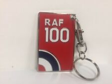 Royal Air Force RAF100 Logo Keyring