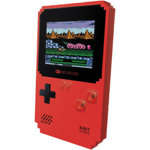 """My Arcade 2.75"""" Pixel Classic Handheld Gaming System w/ 300 Games & 3.5 mm Jack"""