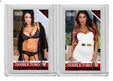 Audrey Bitoni rare MH Double Toro #'d 1/3 Tobacco card no. 101