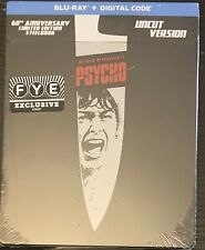 Psycho (Blu-ray/Digital 2020) Fye 60th Anniversary Steelbook Hitchcock New