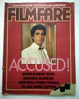 Filmfare 1–15 Oct 1985 Raj Babbar Sridevi Hema Malini Jackie Satyajit Ray Rishi