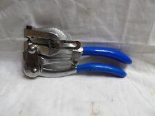 Blue Handle Metal Punch