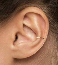 1 Small Ear Cuff Delicate Ear Wrap 18K Gold Plated Dainty Ear Cuff No Pierce