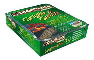 Barbecue portatile pronto uso camping picnic grigliata DIAVOLINA Griglia & Getta