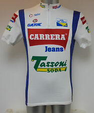 "Nalini Carrera Jeans Denim Cycle Cycling Shirt Jersey Medium 40"""