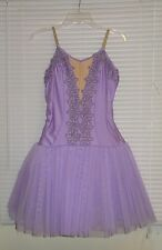 ART STONE Ballerinas LAVENDER Tutu Dress Size Large Adult