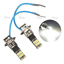 2x26 LED H3 White Car Auto Fog Driving Light Canbus Head Light PK22S Lamp Bulb