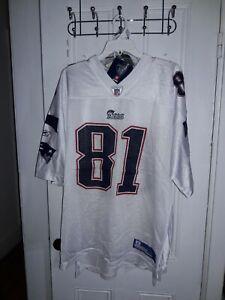 Randy Moss New England Patriots NFL  Reebok Vintage football uniform Jersey 2XL