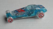 Hot Wheels Hi-Roller azul transparente x-racers coche car juguetes auto HW mattel