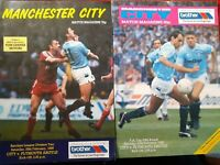 2 MANCHESTER CITY v PLYMOUTH ARGYLE..20/2/88(FA CUP)...25/2/89 - MAINE RD
