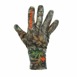 Nomad Southbounder Stretch Fleece Glove RealTree Edge L/XL Large Extra Large New