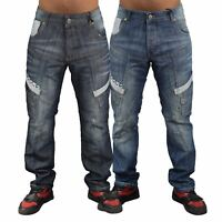 Mens Jeans Rawcraft Cargo Combat Denim Pants Hummer quality Jeans