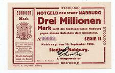 bay1251  Nabburg,  3 Mio Mark