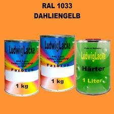 RAL 2004 Reinorange 3 kg Set Acryllack glänzend mit Härter Ral Ral Töne
