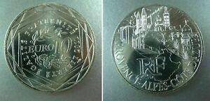 *ARGENT* 10 euros 2011 PROVENCE ALPES COTE D AZUR    ** EURO DES REGIONS