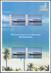 Indonesia - Indonesie Special MS Bali Welcomes Cruise Ship Boudica