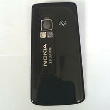 100% Genuine New Original Nokia 6288 Back Cover Fascia Housing - Black