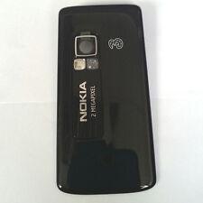 100% Genuine New Original Nokia 6288 Back Cover Fascia Housing - Black