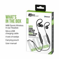 Brand New MEE audio M6B Bluetooth Wireless Sports In-Ear Headphones with Headset