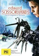 Edward Scissorhands NEW DVD Johnny Depp Winona Tim Burton (Region 4 Australia)