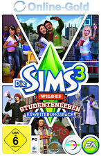 Die Sims 3 Wildes Studentenleben - University Life Add-on Key [EA][PC][Neu]