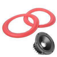 8 Inch Subwoofer Speaker Surround Foam Woofer Speakers Repair Accessories Red