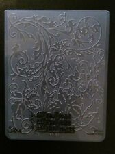 Sizzix Large Embossing Folder FANCY FLORAL FLOWERS fits Cuttlebug 4.5x5.75in