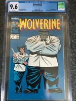 Wolverine #8 1989 CGC 9.6 Iconic Grey Hulk and Mr. Fixit Cover Newsstand 🔑🗝