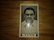 1 Card From Phillips Test Cricketers Cigarette Cards
