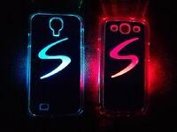 Custodia cover guscio Led Luminosa per Samsung Galaxy S3 S3 Neo S4