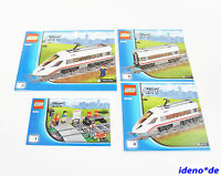 LEGO City Building Instruction 60051 High Speed Train New No Parts