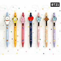 BTS BT21 Official Authentic Goods Swing Gel Pen 0.5mm + Tracking Number
