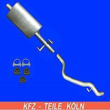 VW LT 28-35 II 2.5 TDI MUFFLER + Exhaust Pipe (Wheelbase 118 1/8IN) Exhaust